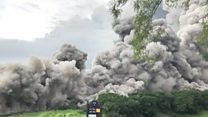 Deadly volcano eruption caught on video