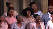 Our Royal wedding performance boosted Gospel music