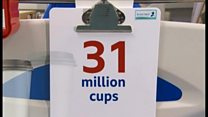 The 31m cups destined for landfill