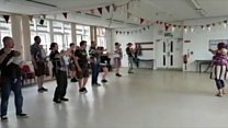 The class where dad dancing is actively encouraged