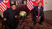 """一分钟了解特朗普与金正恩的""""世纪会晤"""""""