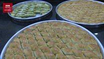 Baklava, hidangan manis khas Turki di hari fitri