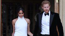'Meghan's dress reflected her human side'