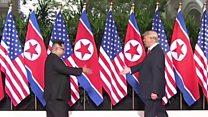 Руковање Трампа и Кима