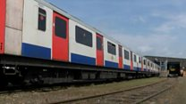 'New' trains made from old Tube carriages