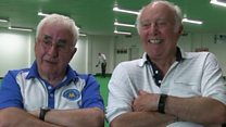 Long-lost friends reunited at bowls match