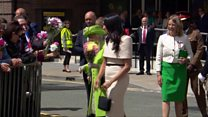 'She's gorgeous': children see the Duchess of Sussex