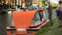 Could we see robot boats in Amsterdam?