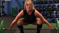 Headteacher - and champion weightlifter