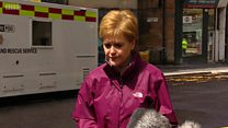 Sturgeon: Glasgow fire is heartbreaking