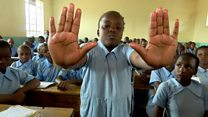 Why Kenyan school children say 'no', loudly