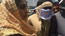 مصاحبه یک خبرنگار زن بیبیسی با افراد گروه طالبان در کابل