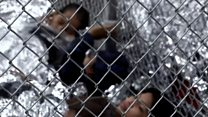 The sound of migrant children separated from parents