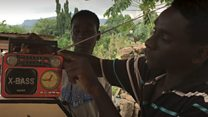 Meet boys who dey convert cassava to electricity