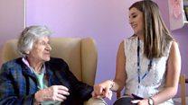 Teens make dementia residents 'feel alive'