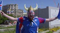 世界杯球迷大对碰:维京战吼vs墨西哥街游