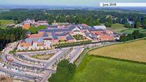 Drone footage shows rehab centre progress