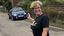 Son surprises mum with sacrificed car