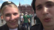 मॉस्को की टूरिस्ट पुलिस