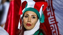 时隔近40年,伊朗女性再次进场看足球