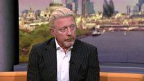 Boris Becker: My CAR passport is genuine