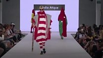 Fashion for the terraces and mosque