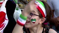 ৪০ বছর পর স্টেডিয়ামে খেলা দেখলো ইরানি নারীরা