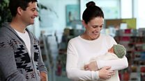 New Zealand PM reveals name of baby