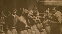 Rare WW1 factory footage shown