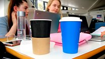 Simple change helps campus cut coffee cup waste