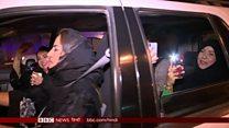 ड्राइव करने सड़कों पर उतरीं सऊदी महिलाएं