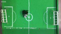 Футбол ойногон аарылар