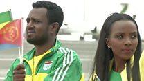 Eritrean and Ethiopian delegates meet