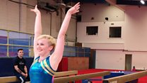 The gymnast 'allergic to everything'