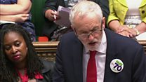 Corbyn on 'warring egos' at Chequers pyjama party