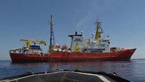 Why is the Aquarius migrant rescue ship empty?