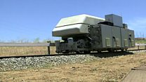 Surplus energy rides the 'gravity train'
