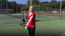 Tennis teen wants to inspire other girls
