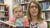'The library is vital to me as new mum'