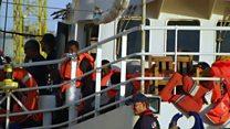 Fin de l'errance pour les 233 passagers du Lifeline
