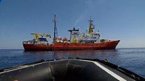Почему Аквариус, корабль мигрантов, пустует