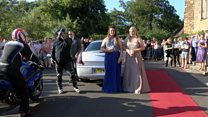 Bikers give bullied girl prom to remember