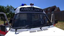 1980s ambulance saved from scrapyard