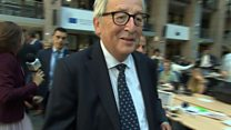 Juncker: May will resolve Brexit splits