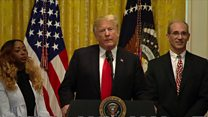 Trump: Journalists should not fear attack
