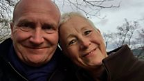 Hospital boss walks in memory of his wife
