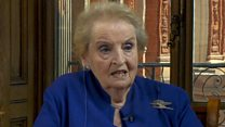 Madeleine Albright on Trump: 'I am concerned'