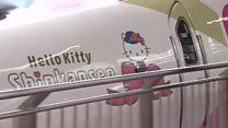 Hello Kitty train makes first trip