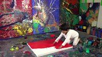 Balita empat tahun hasilkan lukisan bernilai ribuan dolar