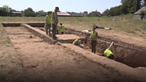 Fort discovered during Tyrone dig